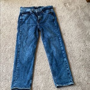 Ankle mom jean